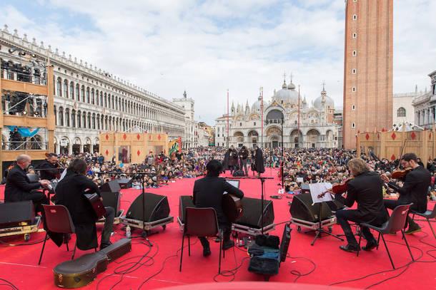 2月13日(火)@ヴェネツィア、サン・マルコ広場
