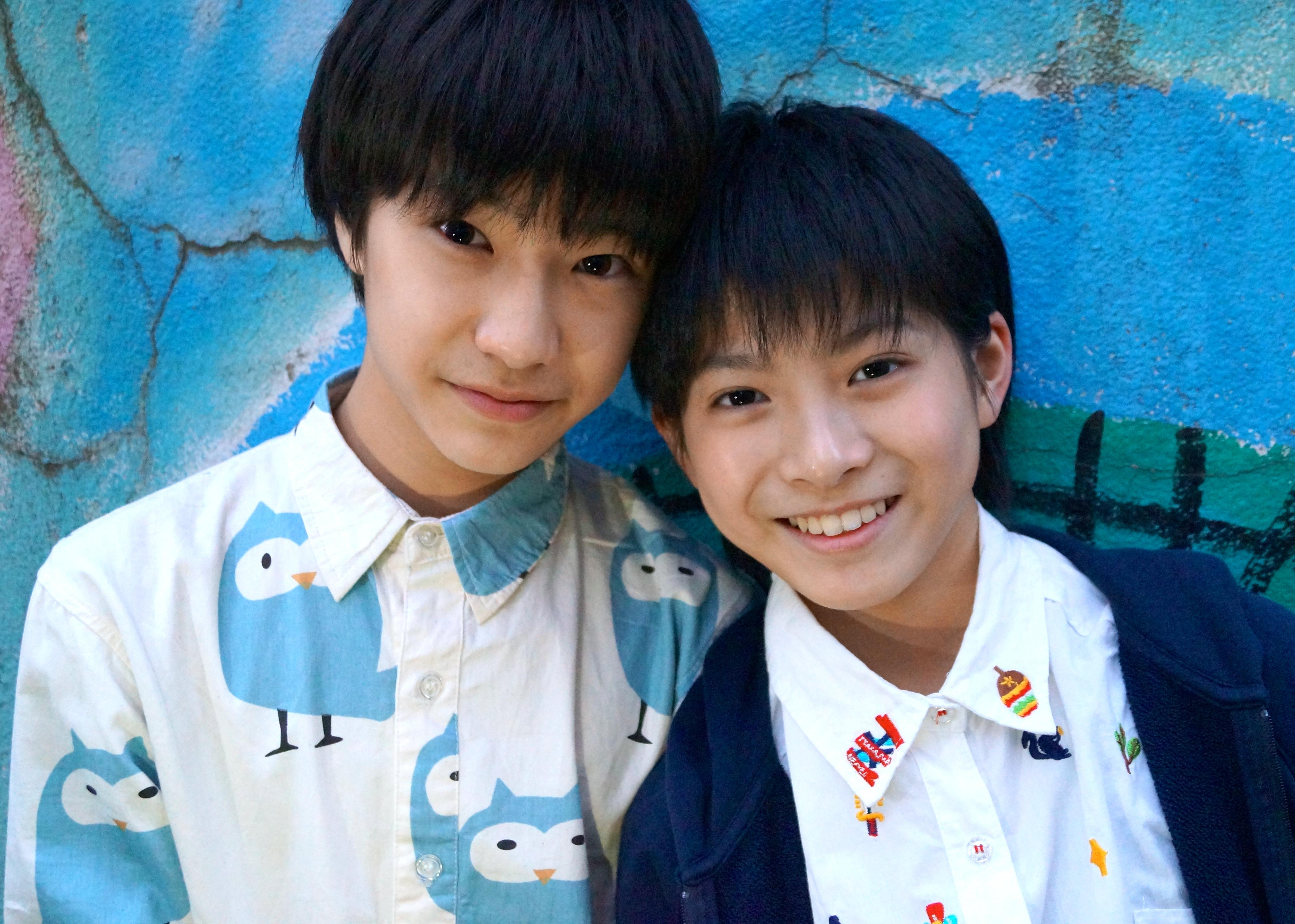 田中雅功(写真左)髙田彪我(写真右)