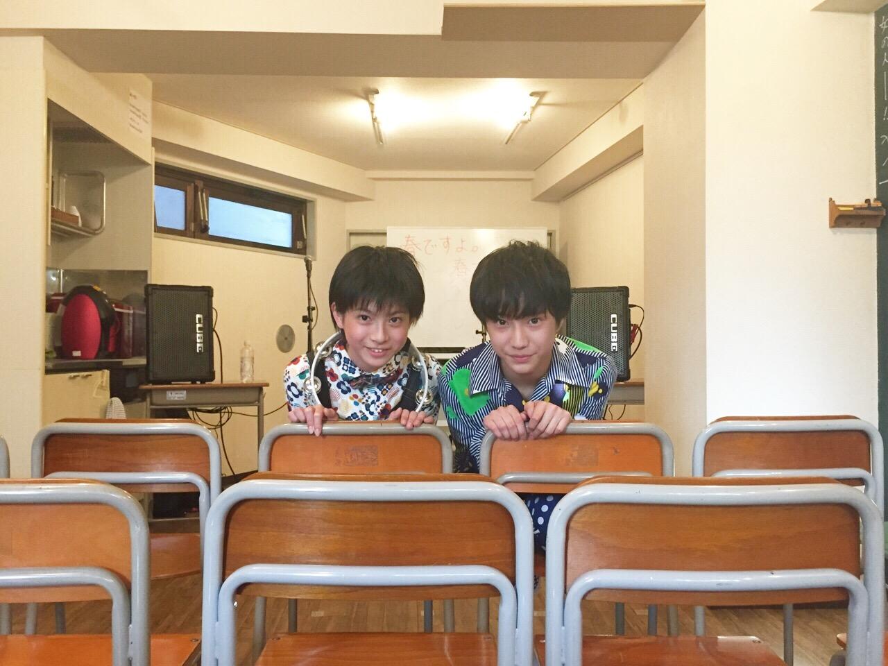 田中雅功(写真右)髙田彪我(写真左)
