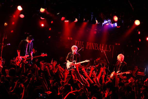 【THE PINBALLS ライヴレポート】 『NUMBER SEVEN tour 2018』 2018年2月23日 at 渋谷CLUB QUATTRO