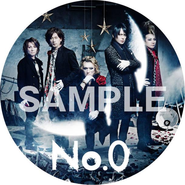 アルバム『No. 0』特典・オリジナル缶バッチ
