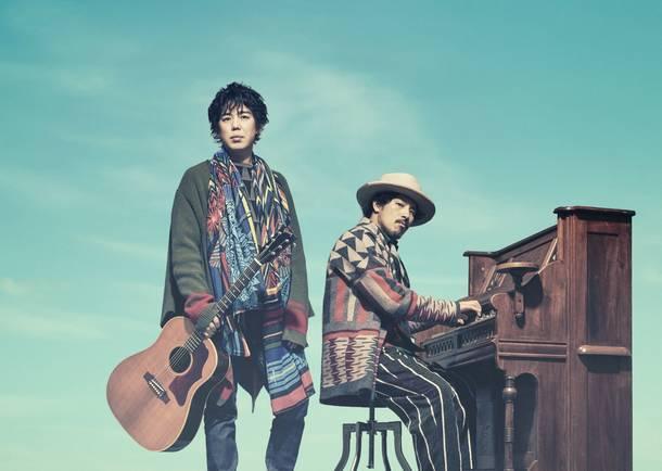 L→R 大橋卓弥(Vo&Gu&Harmonica)、常田真太郎(Piano&Cho&Organ&Other instruments and total sound treatment)
