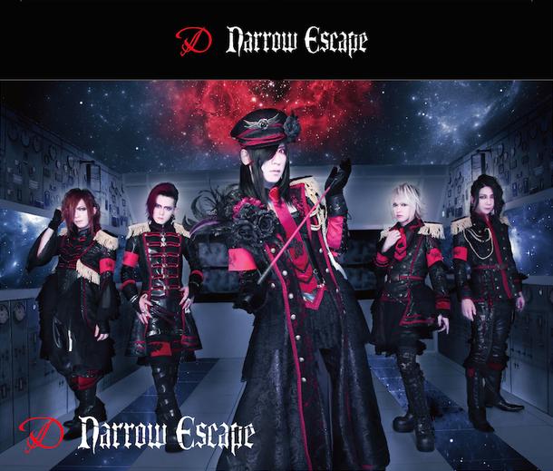 シングル「Narrow Escape」【CD+DVD数量限定盤】スリーブケース