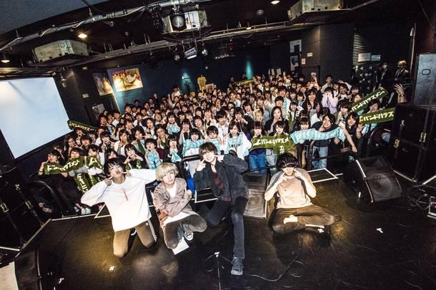 2018年4月5日 at TSUTAYA O-Crest/撮影:TAJITAJI