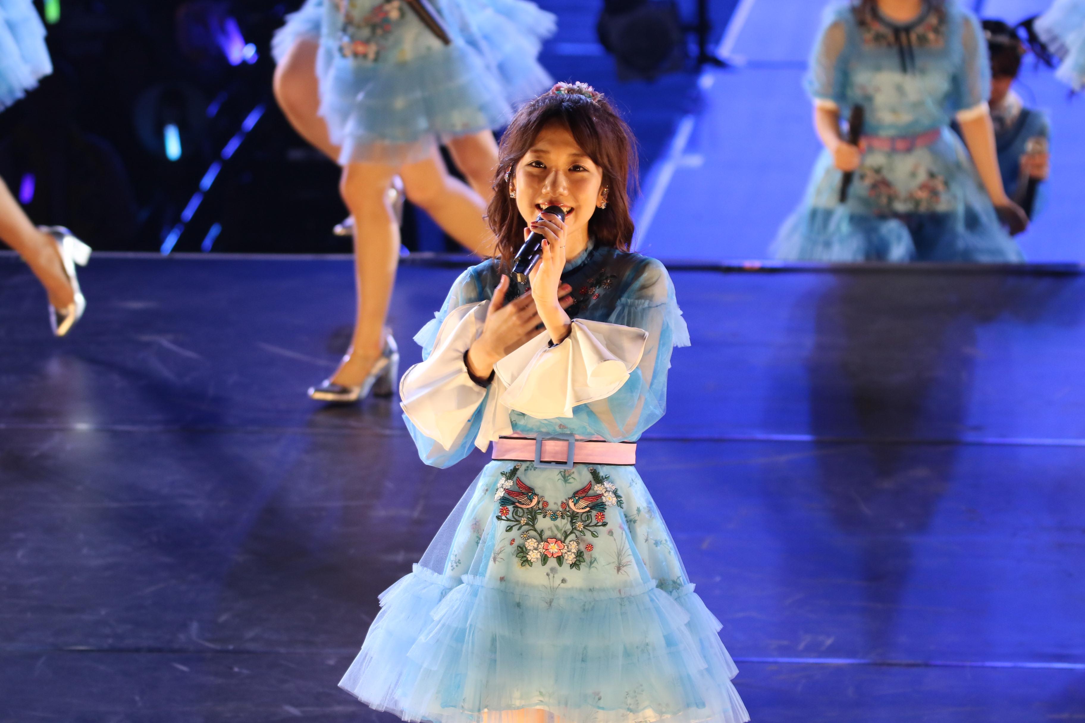 AKB48単独コンサートでの柏木由紀(2018年4月)