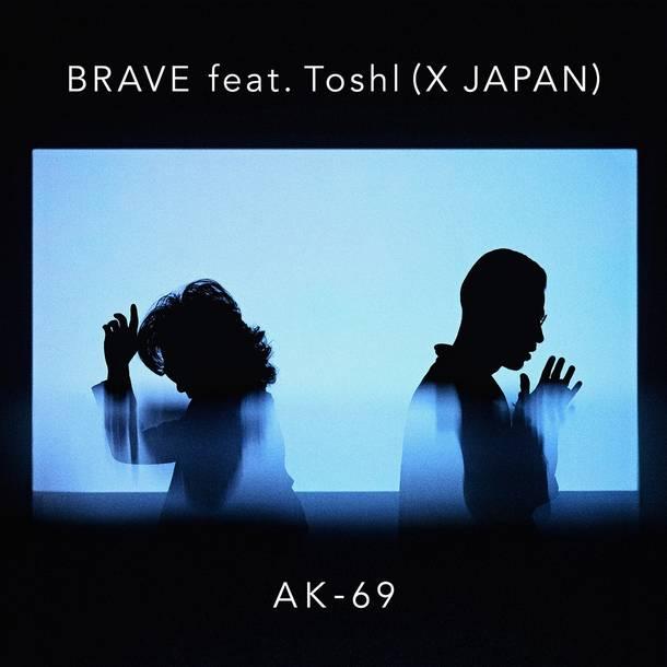 配信楽曲「BRAVE feat.Toshl(X JAPAN)」