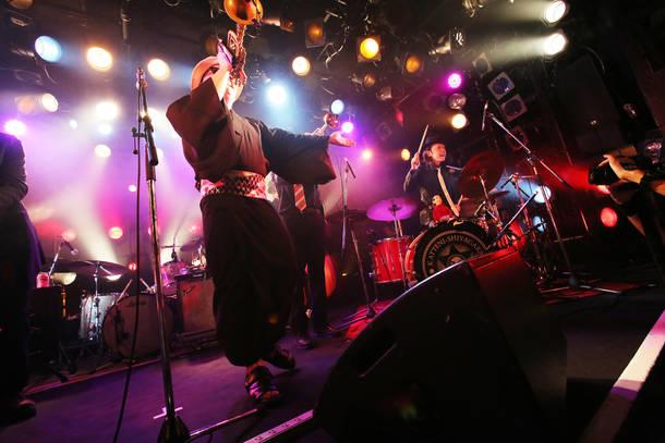 TRI4TH/2018年4月23日 at 渋谷CLUB QUATTRO
