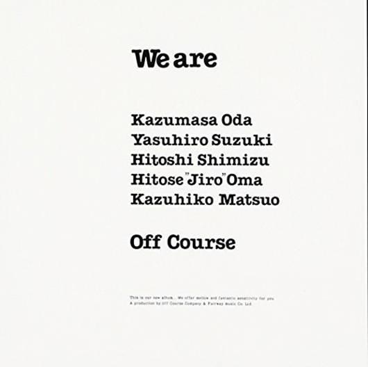 『We are』('80)/オフコース