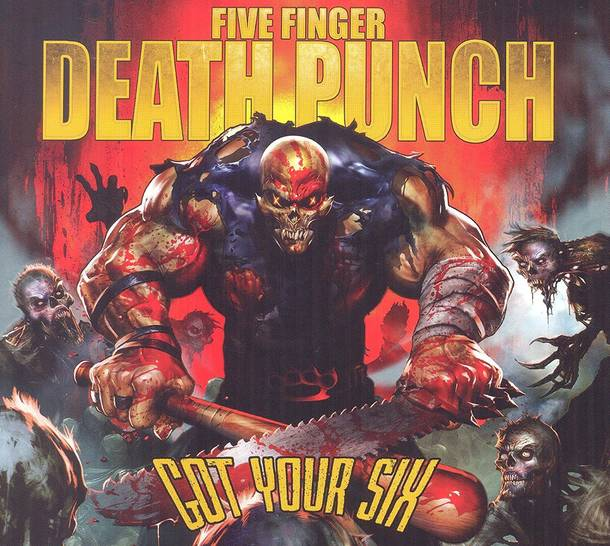 「Got Your Six」収録アルバム『GOT YOUR SIX』/FIVE FINGER DEATH PUNCH