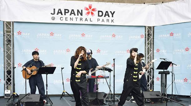 『JAPAN DAY@CENTRAL PARK 2018』ライブ写真