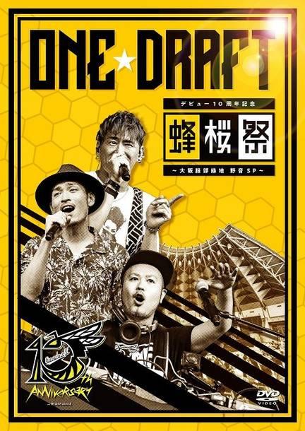 DVD『デビュー10周年記念「蜂桜祭」~大阪服部緑地 野音SP~』
