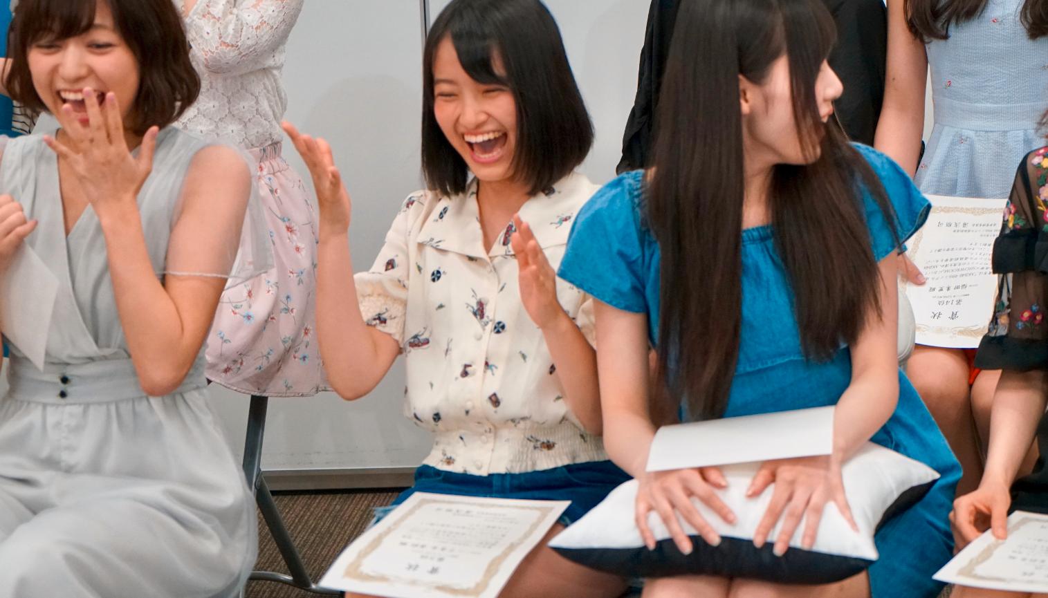 「第9回AKB48総選挙×SRイベント 上位16名お礼特番!」でのサプライズ発表(2017年7月)