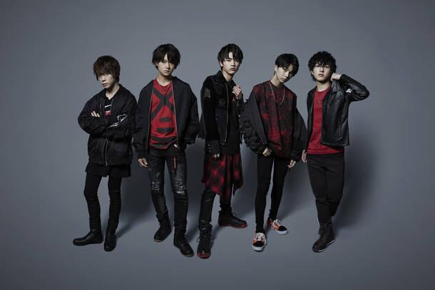 L→R HARUKI、HAYATO、MIZUKI、DAICHI、JINTO