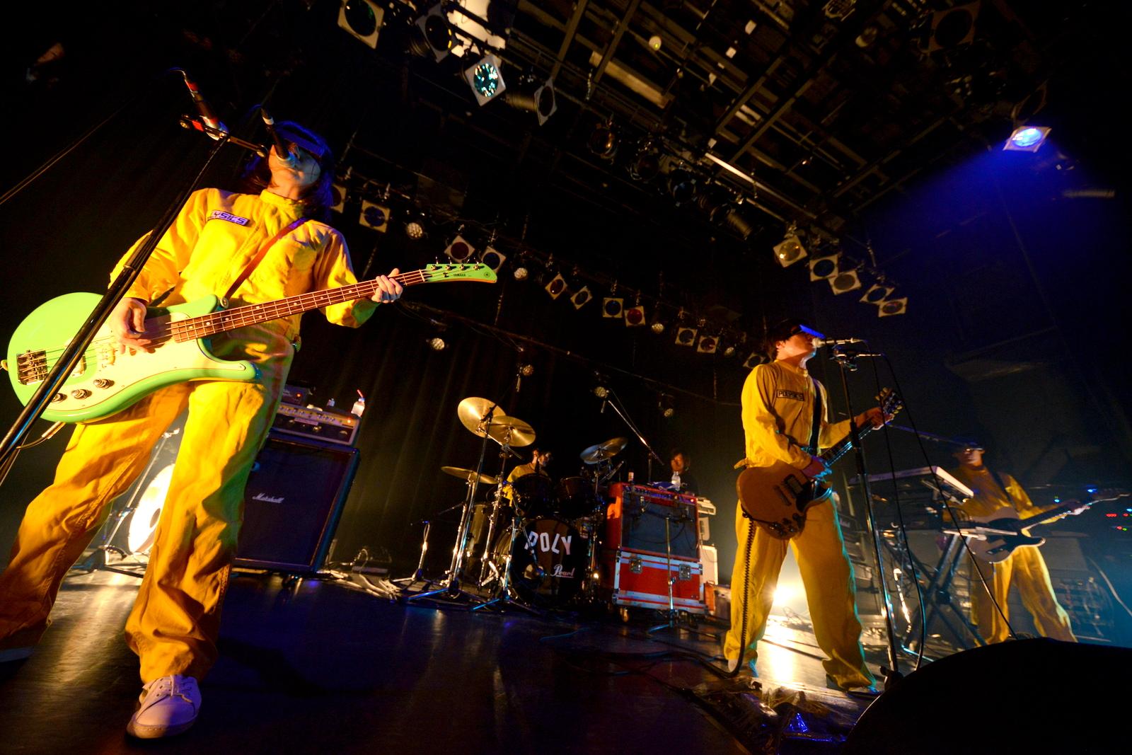 POLYSICS/5月17日(木)@渋谷WWWX