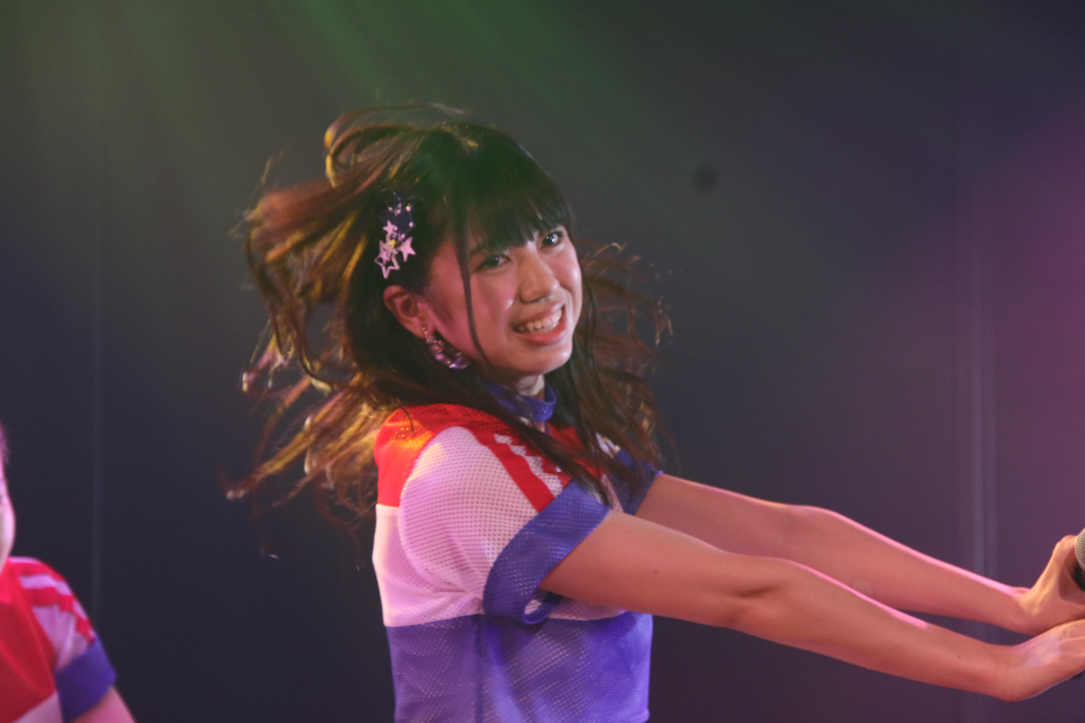 村山チーム4公演ゲネプロでの大西桃香