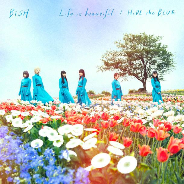 シングル「Life is beautiful/HiDE the BLUE」【CD盤】