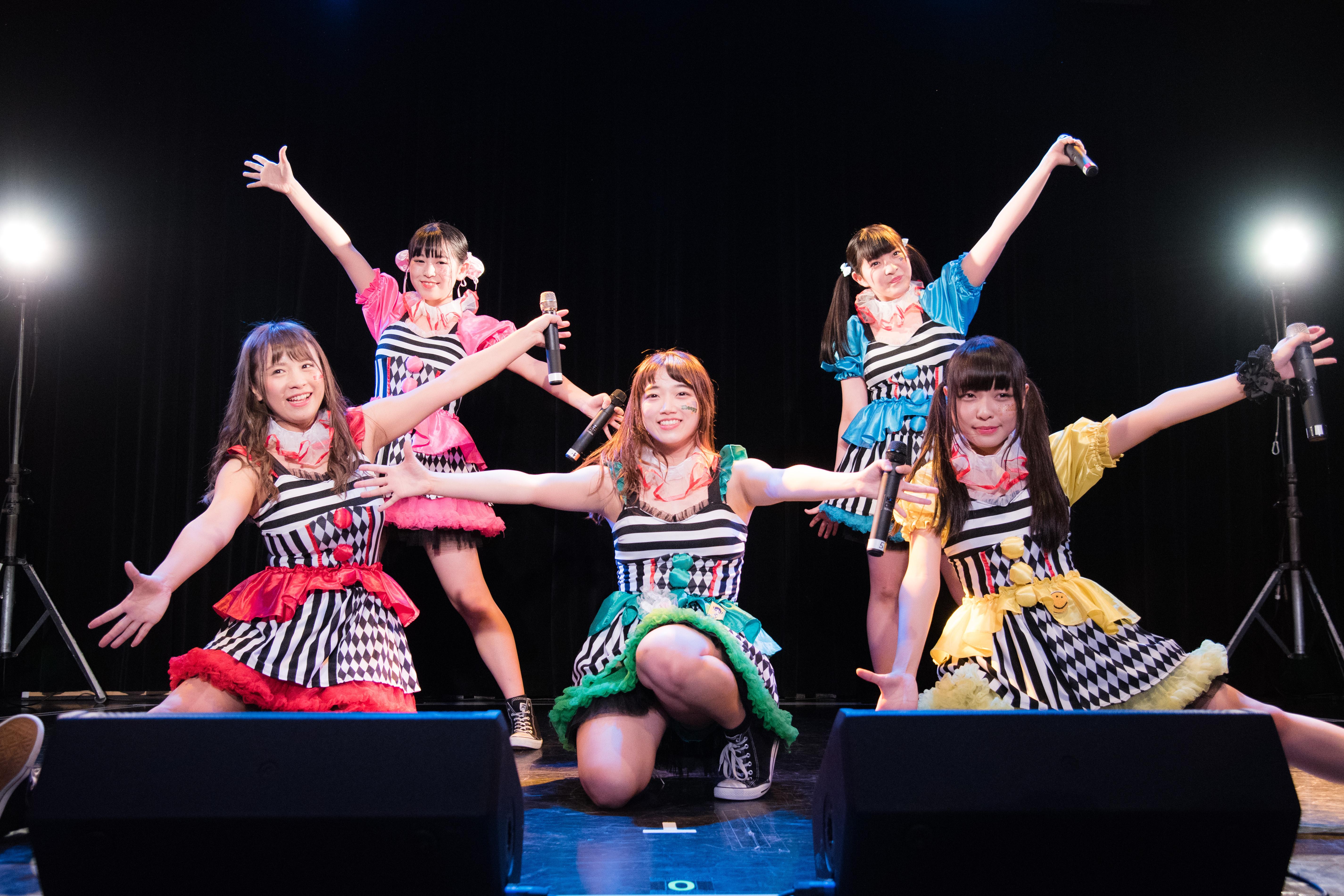 NIJIIRO★サーカス団/6月11日@表参道GRONUD