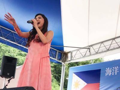 6月17日@『PHILIPPINE EXPO 2018 Ueno Park Tokyo』