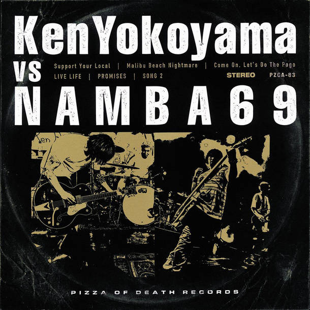 「Malib Beach Nightmare」収録アルバム『Ken Yokoyama VS NAMBA69』/Ken Yokoyama