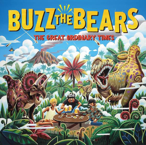 「ふぇすてぃばるまん」収録アルバム『THE GREAT ORDINARY TIMES』/BUZZ THE BEARS