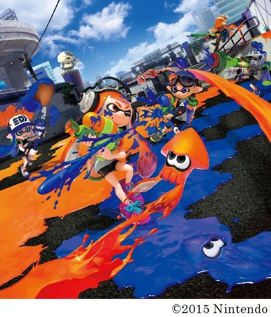 Wii Uで社会現象を巻き起こすヒットとなった人気ゲーム「Splatoon(スプラトゥーン)」