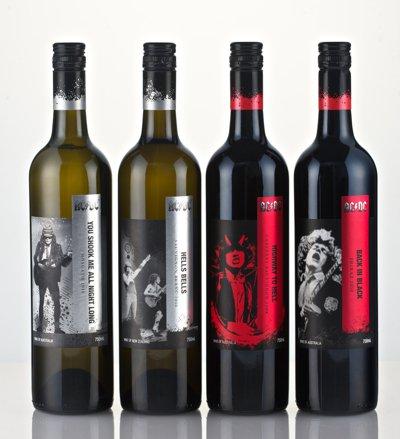 ロックバンドAC/DCがワイン販売に進出