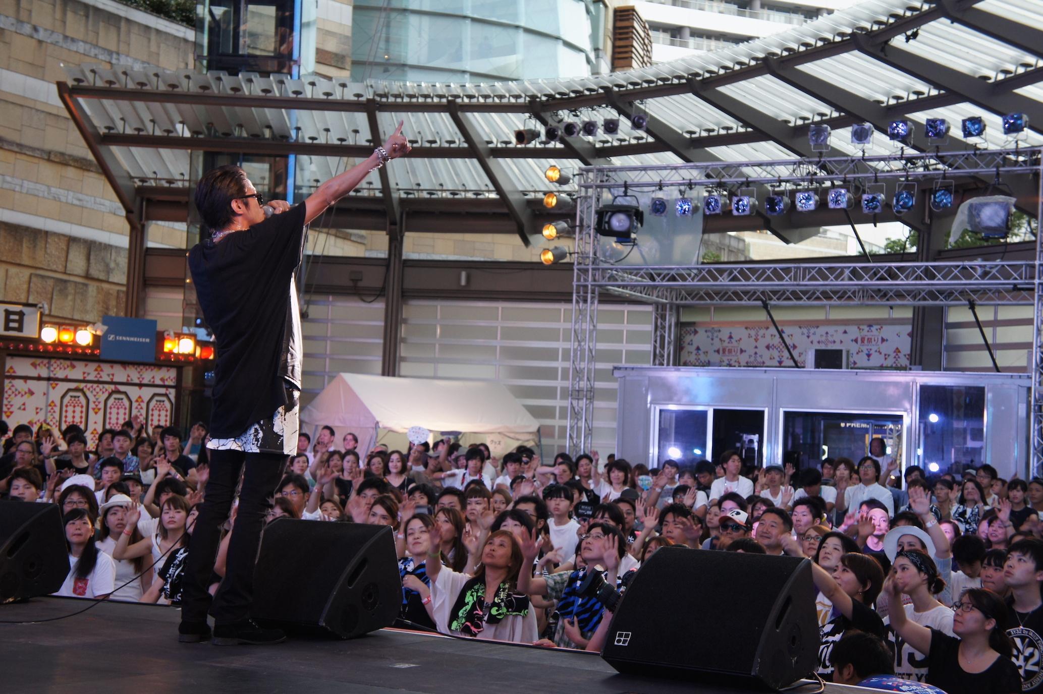 8月6日@「テレビ朝日・六本木ヒルズ夏祭り SUMMER STATION」