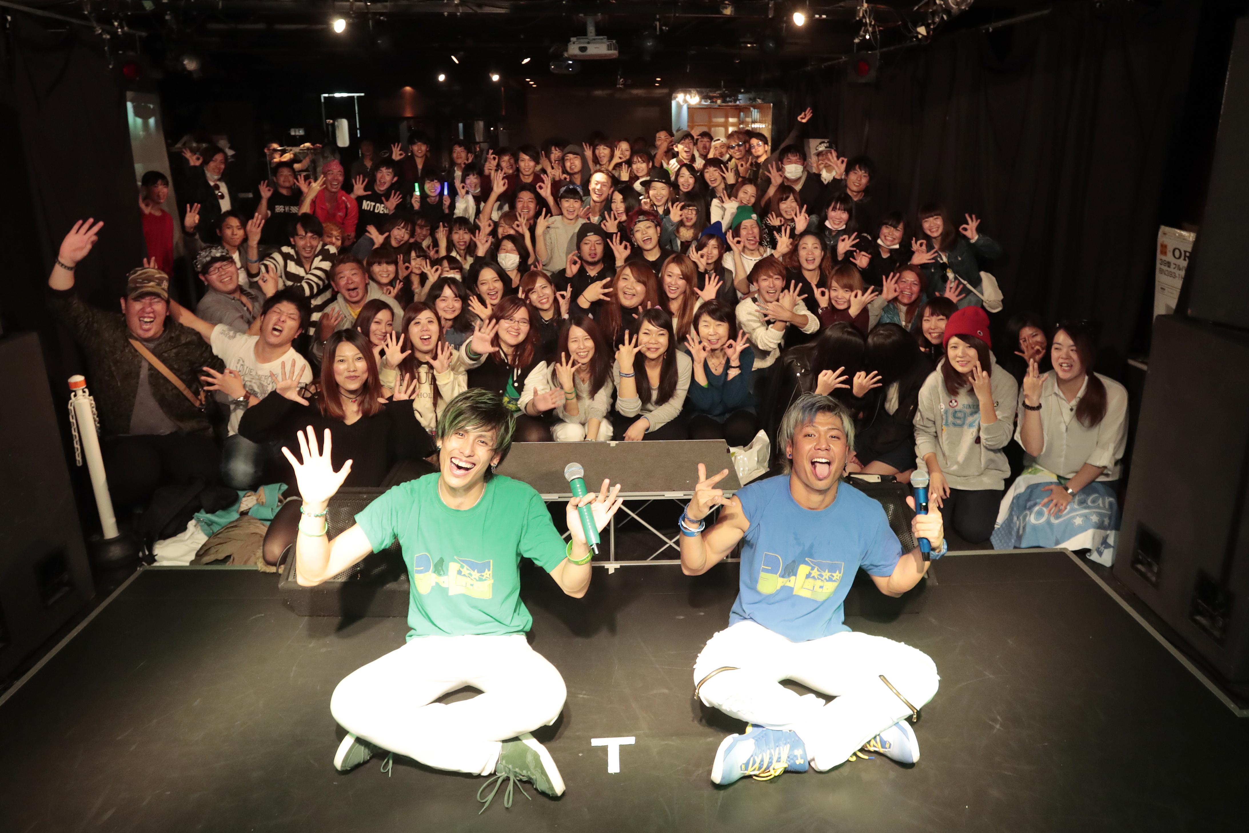 3poLstar☆☆☆ 初のワンマンライブ