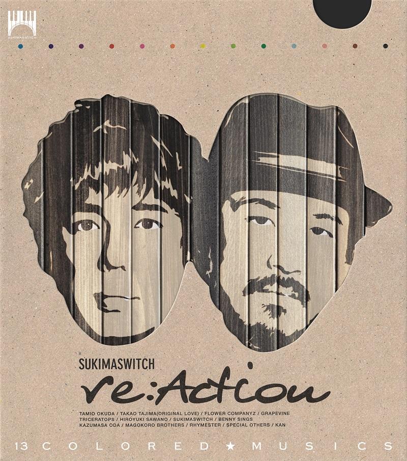 アルバム『re:Action』【初回生産限定盤】(2DISCS:Blu-spec CD2)