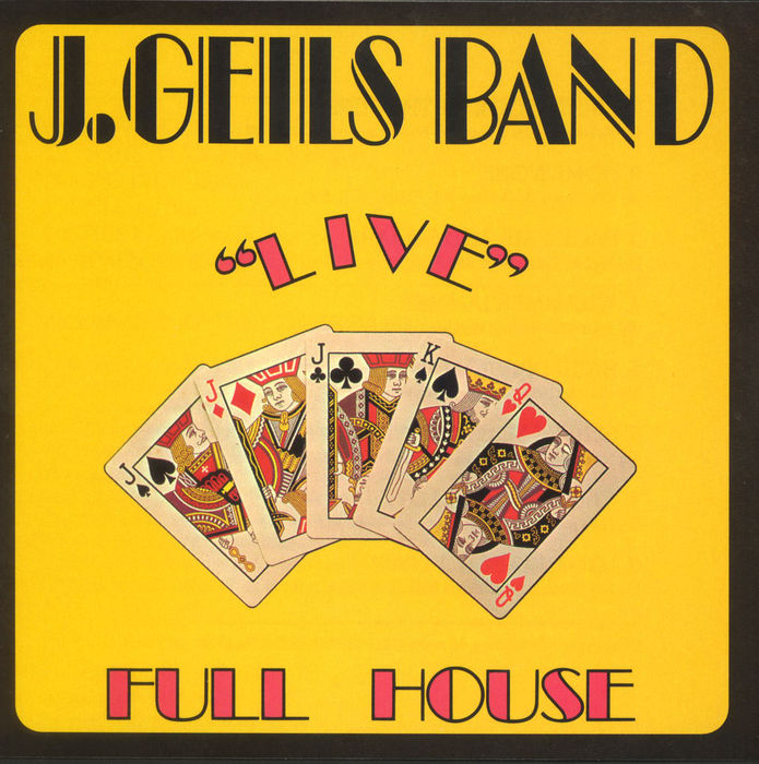 "『""Live"" Full House』('72)/J.GEILS BAND"