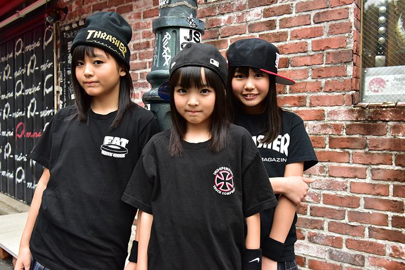 L→R RIN、KAE、AINA