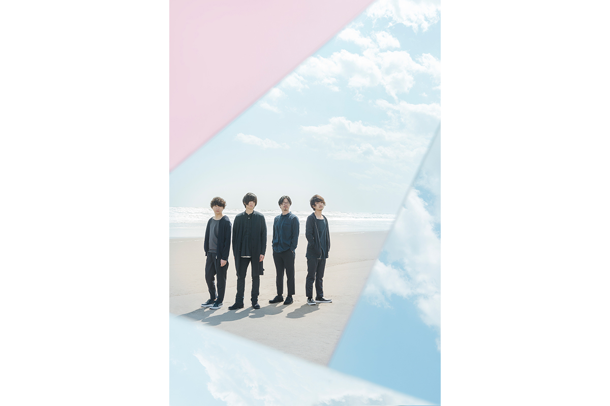 L→R 佐藤拓也(Gu&Key)、内澤崇仁(Vo&Gu)、前田恭介(Ba)、伊藤彬彦(Dr)