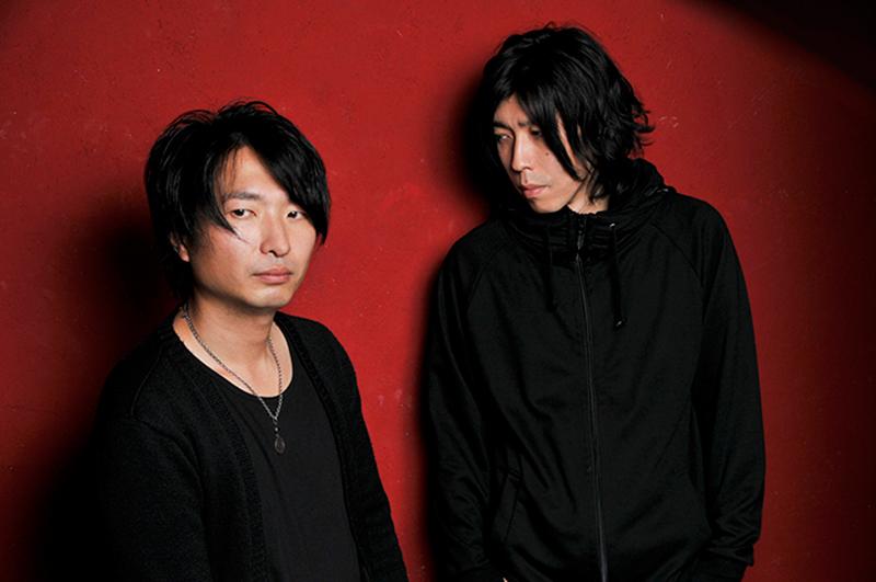 L→R 飯田カヅキ(Vo&Gu)、平マサト(Ba)