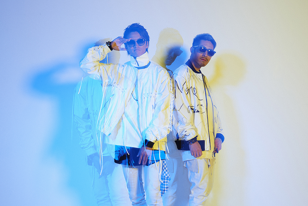 L→R TOC(MC)、DJ KATSU(DJ)