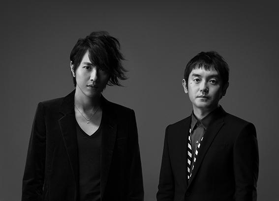 L→R 北川悠仁(リーダー)、岩沢厚治(サブリーダー)