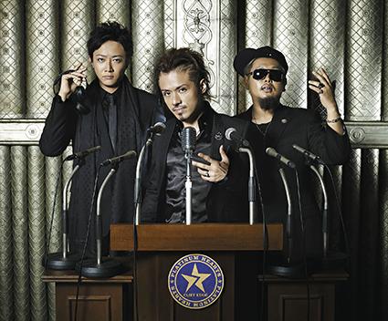 L→R DJ GEORGIA(DJ)、JUN(MC)、SHIN(MC)