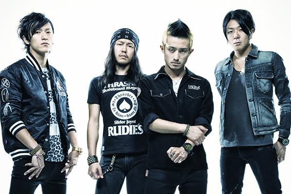 L→R Bunta(Dr&Cho)、Kuboty(Gu&Cho)、Jose (Vo&Gu)、Shun(Vo&Ba)