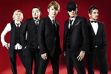 L → R IWASAKI(Dr)、GOT'S(Ba)、KEIGO(Vo)、KOHSHI(Vo)、TAKE(Gu)
