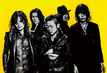 L → R 薫(Gu)、Die(Gu)、京(Vo)、Toshiya(Ba)、Shinya(Dr)
