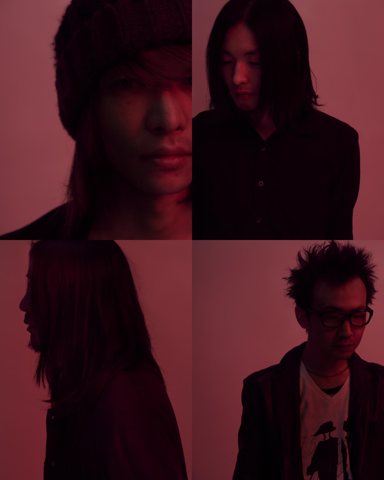 写真左上より時計まわり 木下 理樹(Vo&Gu)、戸高賢史(Gu)、藤田 勇(Dr / MO'SOME TONEBENDER)、中尾憲太郎(Gu)