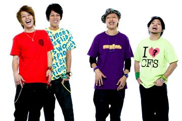 L→R ys(Ba&Vo)、Yo-suke(Vo&Gu)、政雄(Gu&Vo)、悠-suke(Dr)