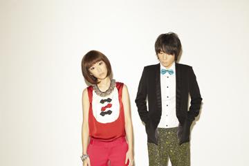 L→R YUKA(Vo)、KOUSUKE MASAKI(Gu)