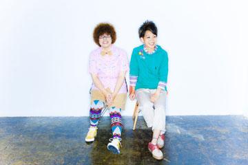 L→R 恵梨香(Cho&Gu)、千晶(Vo&Gu)