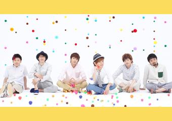 L→R MAa(Dr)、yuya(Ba)、Nobu(Vo&Gu)、KEI(Vo)、Ryo(Gu)、SHIGE(Key)