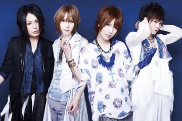 L→R タケヒト(Gu)、インテツ(Ba)、夢人(Vo)、KENZO(Dr)