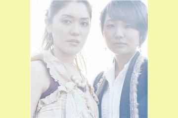 L→R 清水 悠(Vo)、大西春奈(Vo&Piano)