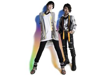 L→R AIRI(Vo)、本田光史郎(Ba&music composed)