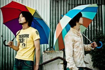 L→R上野啓示(Gu&Vo)、成瀬篤志(Key)