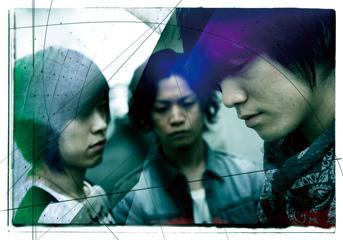 L→R 金野倫仁(Ba)、伊東賢佑(Dr)、鈴木雄太(Vo&Gu)