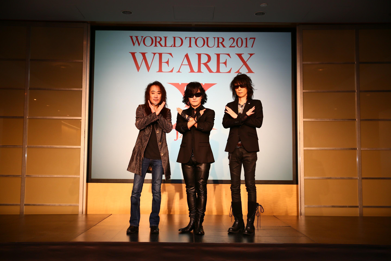 X JAPANメンバーのToshl、 PATA、 HEATH